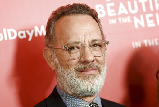 Actor Tom Hanks attends a special screening of A Beautiful Day In The Neighborhood, at the Henry R. Luce Auditorium, Sunday, Nov. 17, 2019, in New York. (Photo by Evan Agostini/Invision/AP)