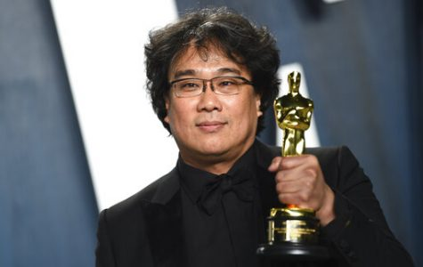 Bong Joon-ho, winner of the awards for best original screenplay, best international feature film, best directing, and best picture for