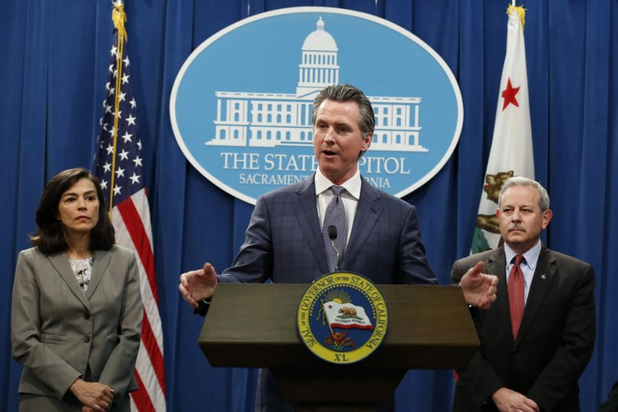 California Gov. Gavin Newsome declared statewide emergency to deal with the Coronavirus on March 4, 2020.