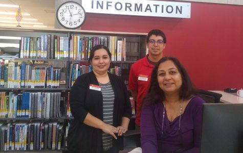 The Hilb library staff seeks student success