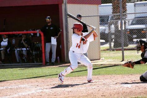 Kenny Yoshida at bat.