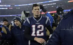 Photo Courtesy of AP Images.New England Patriots quarterback Tom Brady leaves the field after losing an NFL wild-card playoff football game to the Tennessee Titans, Saturday, Jan. 4, 2020, in Foxborough, Mass.