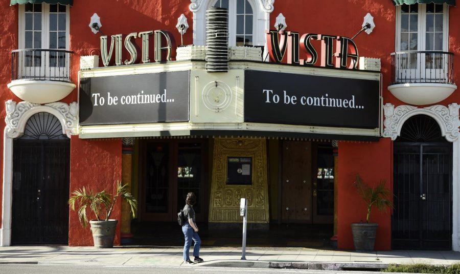 Vista+movie+theatre%2C+April+21%2C+2020%2C+in+Los+Angeles.+Photo+Courtesy+of+AP+Images.+