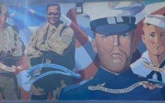 Painting of Local Veteran, Albert James, also known as