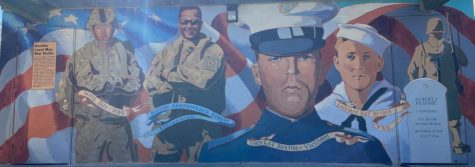 "Painting of Local Veteran, Albert James, also known as ""Little Albert"""