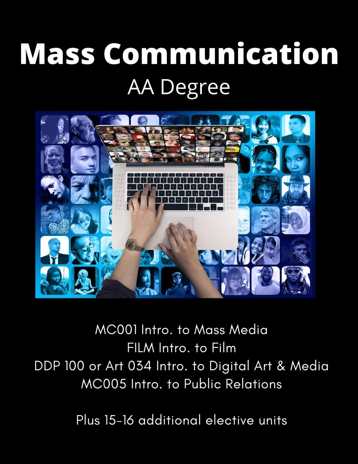 Mass Communication Flyer