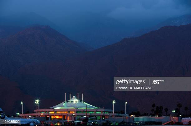 Palm Springs Airport In Palm Springs, United States In May,2000