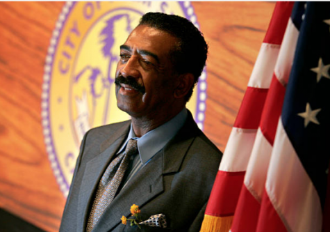 Photo courtesy of Getty Images. Ron Oden, former mayor of Palm Springs.