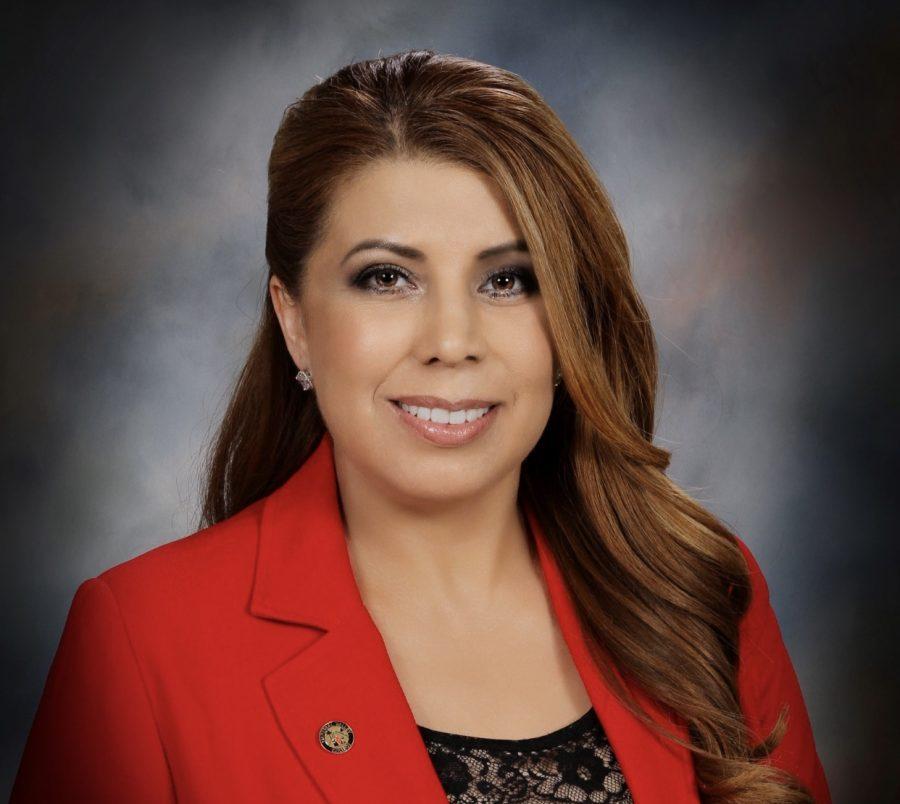 Photo courtesy of College of the Desert. Superintendent/President Dr. Martha Garcia.