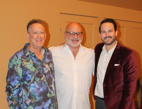 Image shows Desert Ensemble Theatre Company Staff From left to right; Jerome Elliott (Artistic Director Board Vice-President), Keith Cornell (Director), Shawn Abramowitz (Executive Director and Board President).